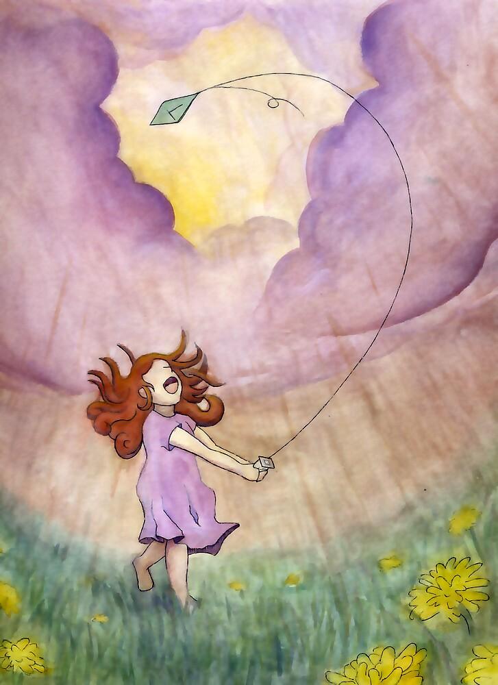 Flying a Kite in a Thunderstorm by Tim Gorichanaz