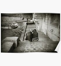 Lovers by the Seine Poster