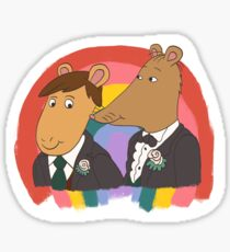 Mr Ratburn und Patrick Wedding Sticker