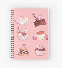 (Kirby) Desserts Spiral Notebook