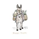 Happy Trails Donkey by Laura Maxwell