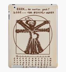 ZEEK the Martian geek ... aka Cattapan's Martian iPad Case/Skin