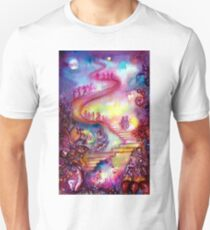 GARDEN OF THE LOST SHADOWS / MYSTIC STAIRS  Unisex T-Shirt