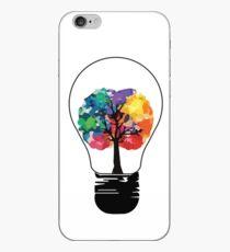 Vinilo o funda para iPhone Mente creativa