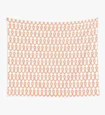 Womb Cancer Ribbons Wall Tapestry