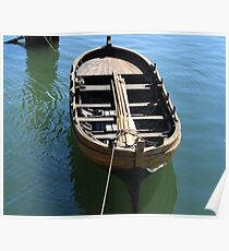 Old boat photography  Poster
