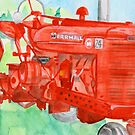 grandpa's tractor by Leeanne Middleton