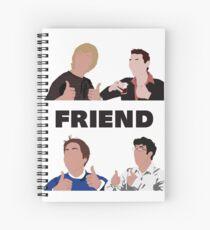 Cuaderno de espiral The Inbetweeners - Ooh, amigo