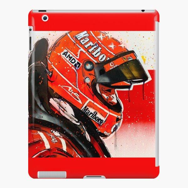 Michael Schumacher - Ferrari F1 graffiti painting by DRAutoArt iPad Snap Case