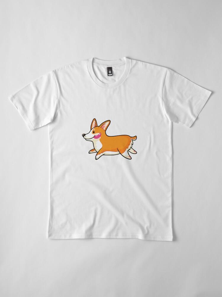Alternative Ansicht von Corgi Premium T-Shirt