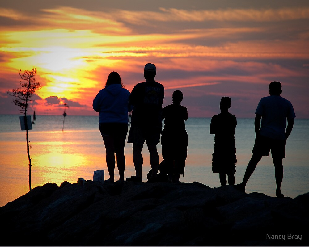 Watching the Sunset by Nancy Bray
