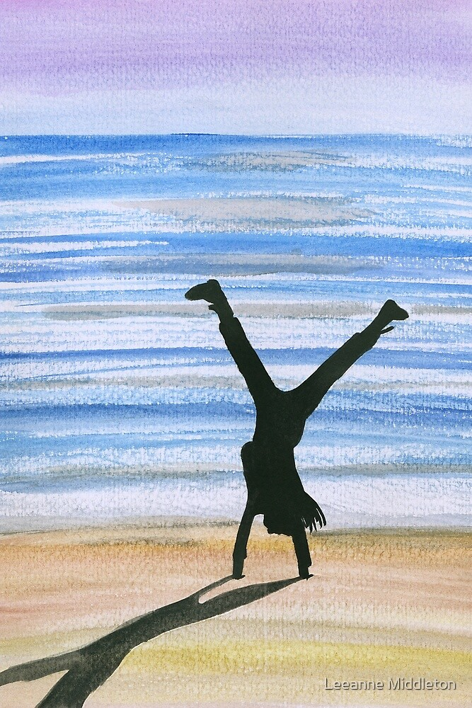 cartwheel by Leeanne Middleton