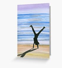 cartwheel Greeting Card
