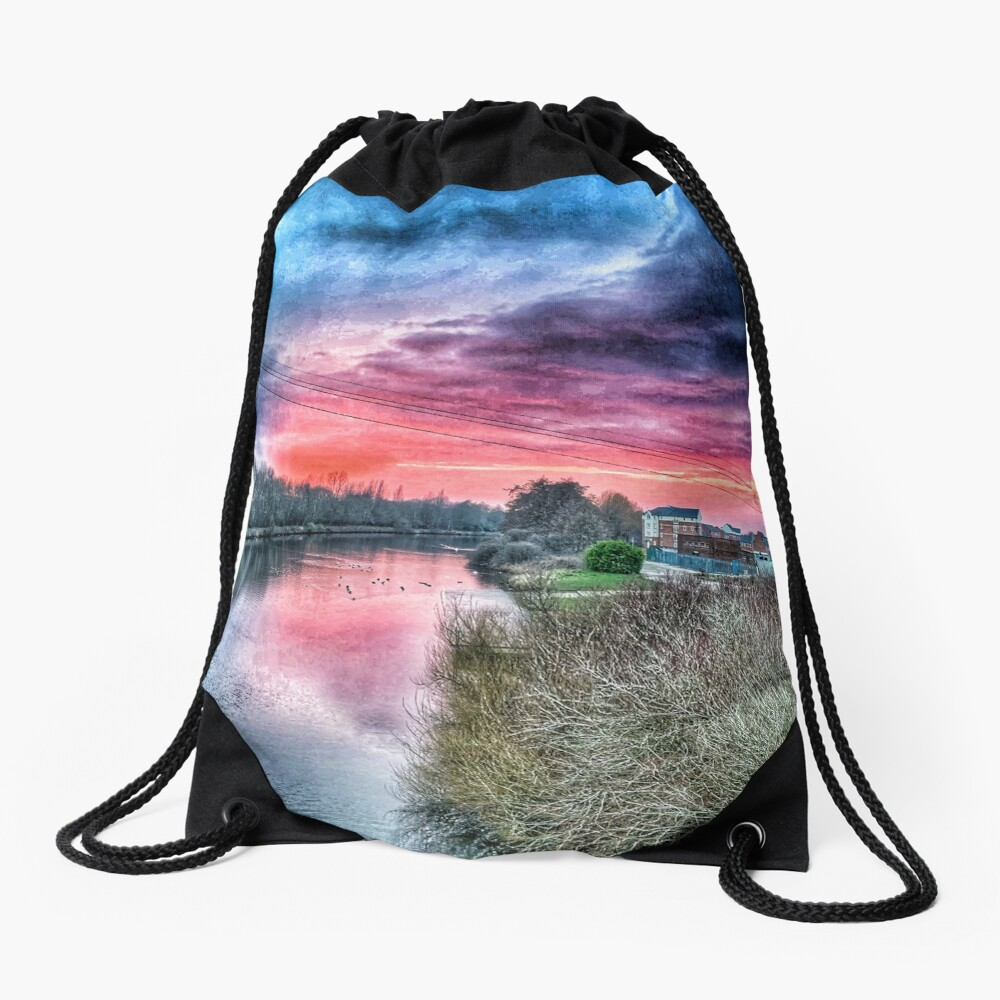 River Mersey  Drawstring Bag