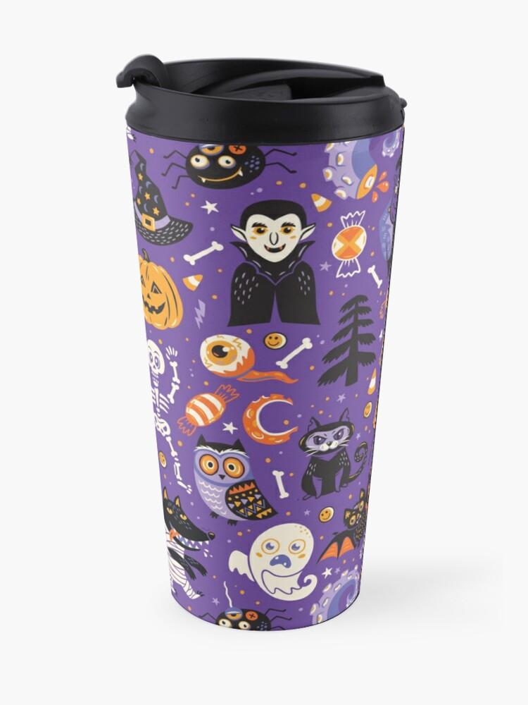 Alternate view of Happy Halloween Travel Mug