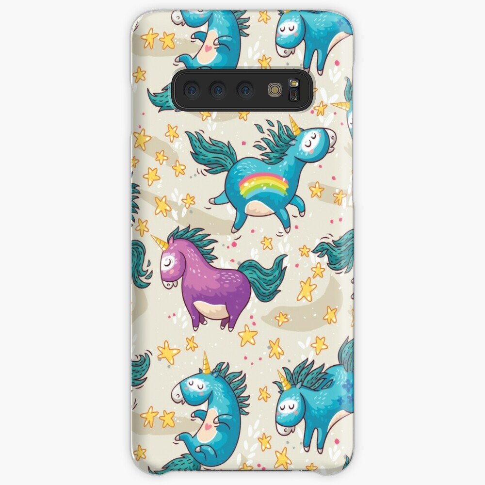Ich glaube an Magie Hülle & Klebefolie für Samsung Galaxy