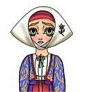 Abito tradizionale di Meana Sardo - Traditional Sardinian Dress by Lu1nil