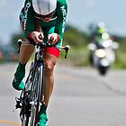 Womens Individual Time Trial No 3 by Brian Carson