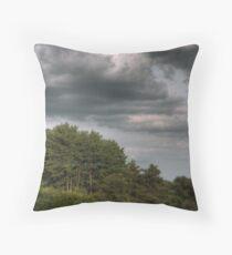 Layered Clouds Throw Pillow