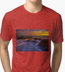 Sunset Spill Tri-blend T-Shirt