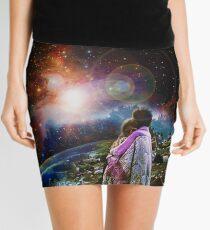 Woodstock Love Vibrant Mini Skirt