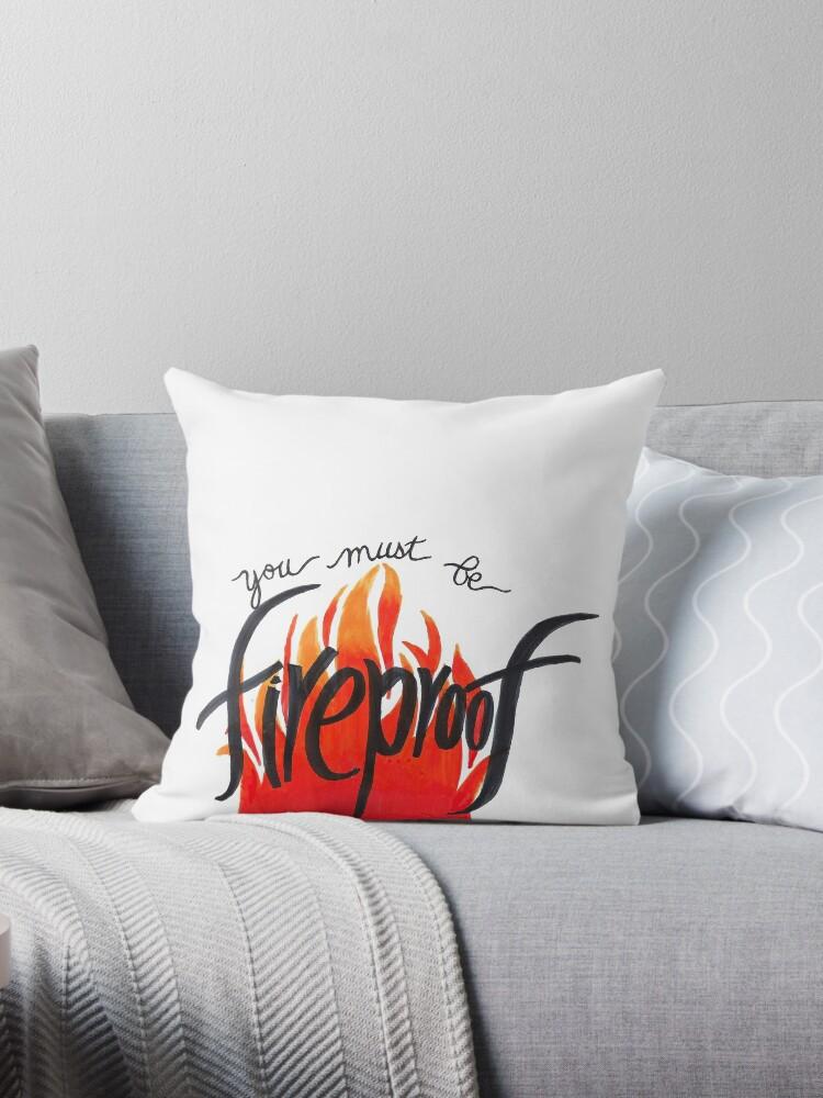 Fireproof Lyric Art by iamofirg