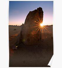 Sunburst Pinnacle Poster
