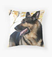 Loyal and Loving Throw Pillow