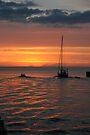 Cruising into the Evening Sun by John Carpenter