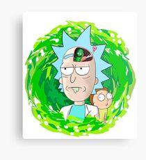 Rick and Morthy  Metal Print