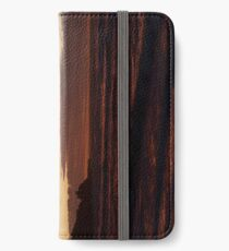 When the sky turns iPhone Wallet/Case/Skin