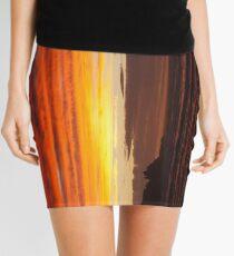 When the sky turns Mini Skirt