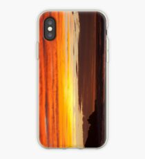 When the sky turns iPhone Case