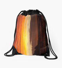 When the sky turns Drawstring Bag