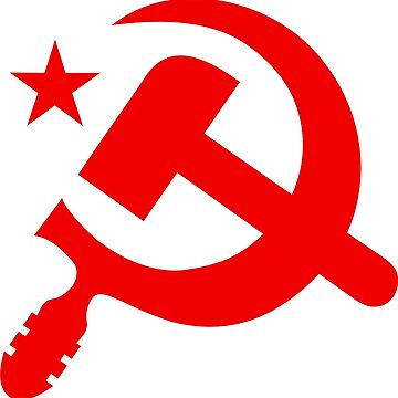 Communist Hammer and Sickle Emblem by NeoFaction