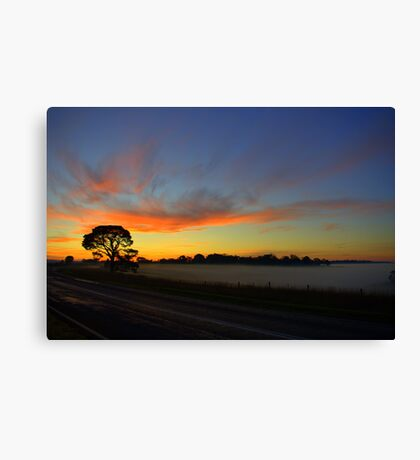 Country travels Canvas Print