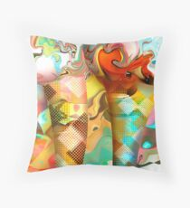 Waffle Cones Throw Pillow