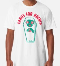 Fangs For Nothin Long T-Shirt