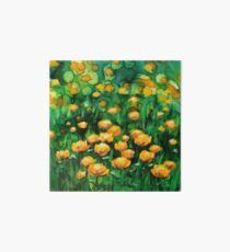 Yellow Blooms. I love Buttercups.  Galeriedruck