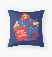 Indoor Adventures Throw Pillow