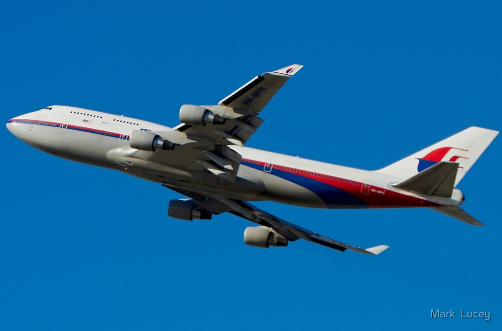 MAS Boeing 747 - Takeoff by Mark  Lucey
