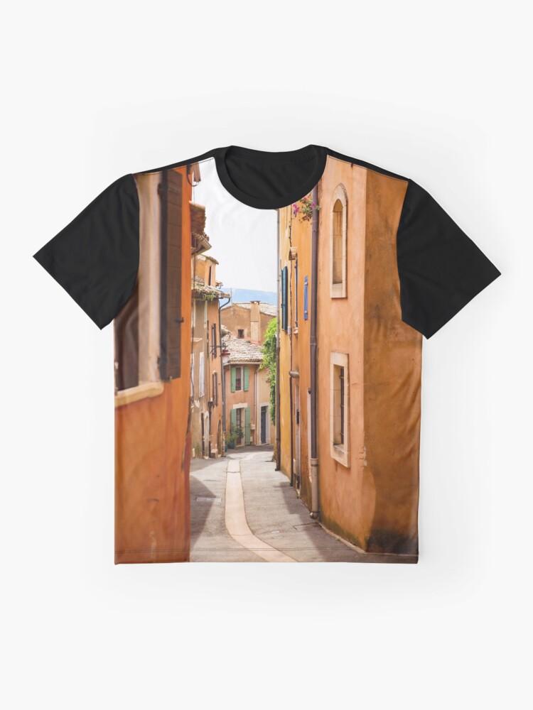 Alternative Ansicht von Gasse Grafik T-Shirt