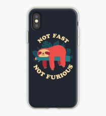 Not Fast, Not Furious iPhone Case