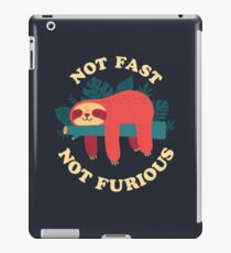 Not Fast, Not Furious iPad Case/Skin