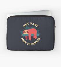 Not Fast, Not Furious Laptop Sleeve