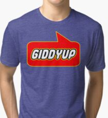 Giddyup, Bubble-Tees.com Tri-blend T-Shirt