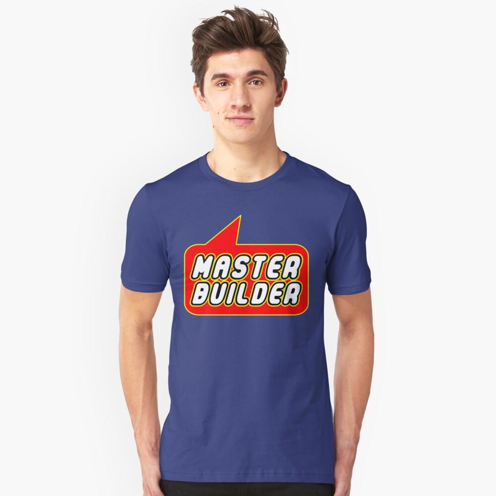 Master Builder, Bubble-Tees.com Unisex T-Shirt Front