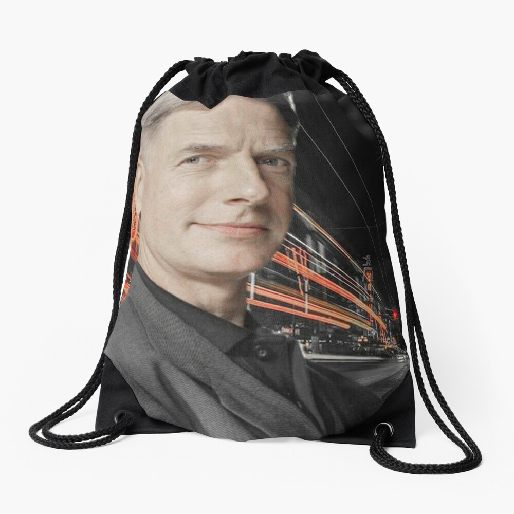 Mark Harmon Drawstring Bag