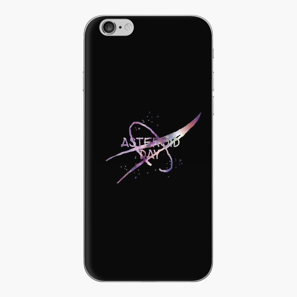 Asteroid Day iPhone Skin