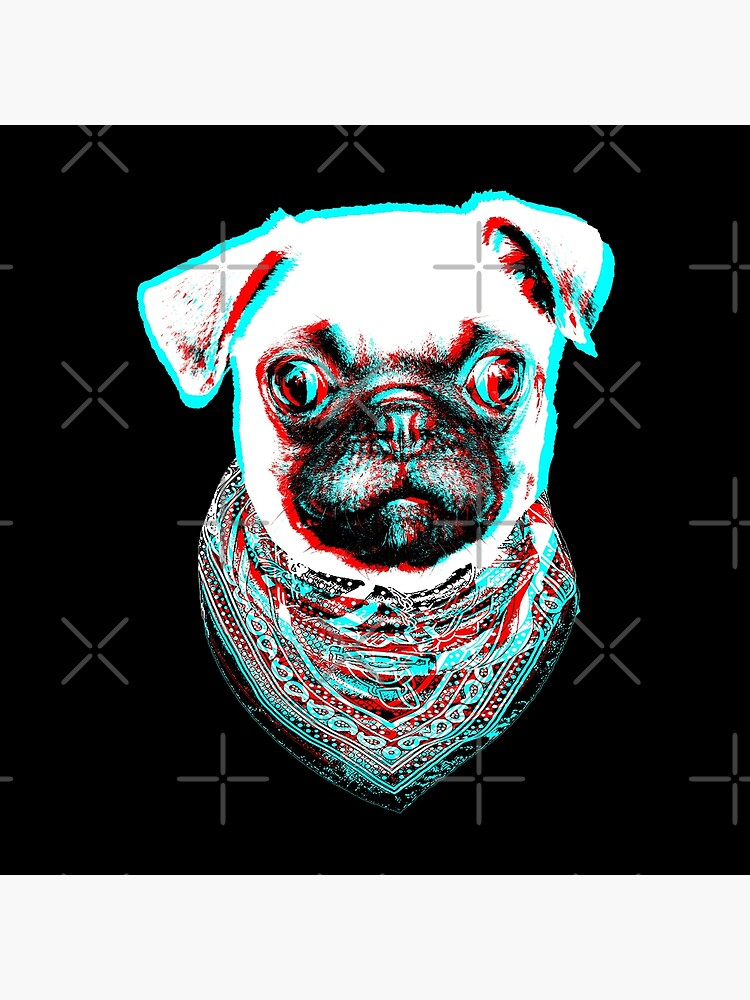 Pug Pop Art de belugastore